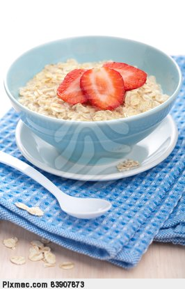 porridge-with-fresh-strawberry-freshness-pixmac-photo-83907873